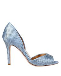 Badgley Mischka | Blue Mitzi Dorsay Pumps | Lyst