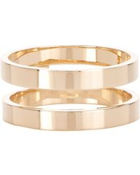 Repossi | Metallic Berbere Double-band Cage Ring | Lyst