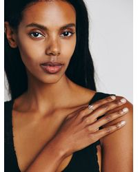 Free People | Metallic Ono Jewelry Womens Mercury Palms Ring | Lyst