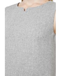 Great Plains | Gray Elly Wool Shift Dress | Lyst