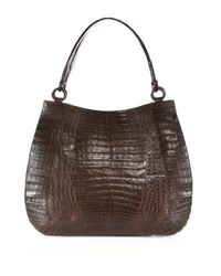 Nancy Gonzalez | Multicolor Medium Crocodile Top-handle Bag | Lyst