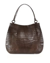 Nancy Gonzalez - Multicolor Medium Crocodile Top-handle Bag - Lyst