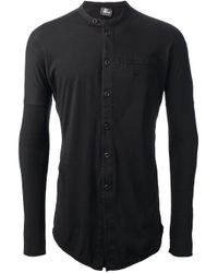 Lost & Found | Black Buttopon Shirt for Men | Lyst
