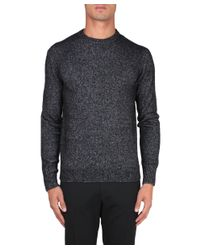 Corneliani - Gray Pull Misto Lana for Men - Lyst