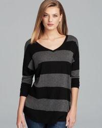 Joie   Black Sweater Chyanne Stripe   Lyst