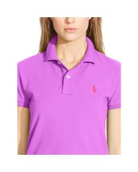 Polo Ralph Lauren - Purple Classic-fit Polo Shirt - Lyst