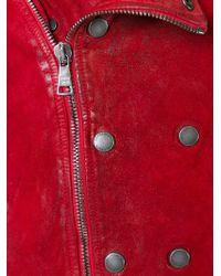 Giorgio Brato | Red Suede Jacket for Men | Lyst