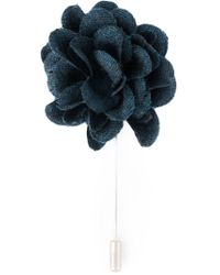 Lanvin | Blue Flower Pin | Lyst