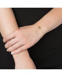 Sarah Chloe | Metallic Mini Cara Bracelet | Lyst