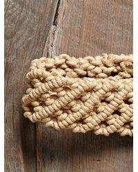 Free People - Natural Vintage Macrame Belt - Lyst