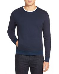 W.r.k. | Blue 'schyler' Crewneck Sweatshirt for Men | Lyst