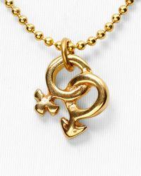 "Uno De 50 - Metallic And Love Necklace, 19"" - Lyst"