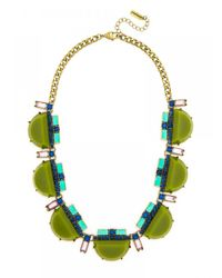 BaubleBar | Green Chartreuse Deco Strand | Lyst