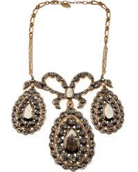 Vivienne Westwood | Metallic Georgian Necklace | Lyst