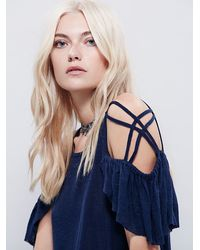 Free People | Blue We The Free Womens We The Free Cutie Tee | Lyst