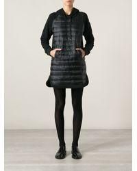 Moncler - Black Padded Dress - Lyst