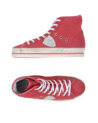 Philippe Model - Red High-tops & Trainers - Lyst