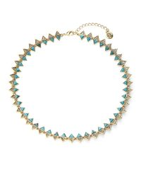 House of Harlow 1960 | Blue Ascension Collar Necklace | Lyst