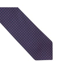 Thomas Pink - Blue Stratton Grid Woven Tie for Men - Lyst