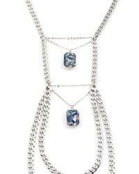 Vanessa Mooney   Metallic The Atlas Statement Necklace   Lyst