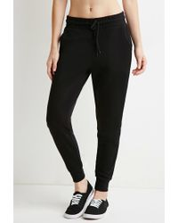 Forever 21 | Black Classic Drawstring Sweatpants | Lyst