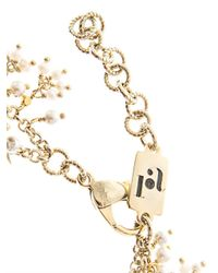 Rosantica By Michela Panero | Metallic Carmen Riverpearl Bib Necklace | Lyst