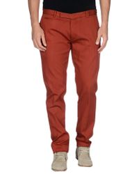 Fendi - Red Casual Trouser for Men - Lyst