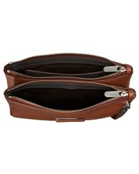 Marc By Marc Jacobs | Brown Ligero Double Percy | Lyst