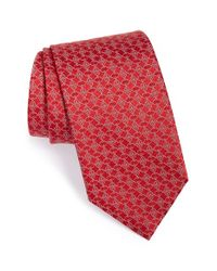 Brioni - Orange Silk Tie for Men - Lyst
