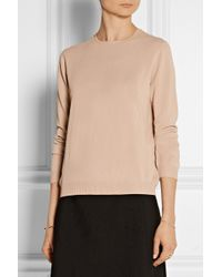 N°21 | Pink Embellished-Collar Knitted Sweater | Lyst
