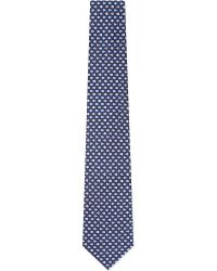 Ferragamo | Blue Ladybugs Silk Tie for Men | Lyst