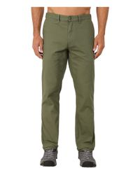 Patagonia | Green Straight Fit Duck Pant - Regular for Men | Lyst
