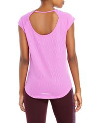 Under Armour | Purple Fly-By T-Shirt | Lyst