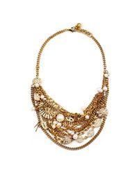 Lulu Frost | Metallic Bord La Mer Necklace | Lyst