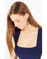 BCBGMAXAZRIA - Multicolor Stone Drop Earrings - Lyst