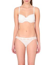 Passionata | White Let's Play Jersey Underwired T-shirt Bra | Lyst