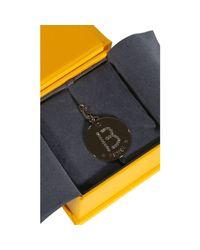 Fendi | Metallic Bijoux Rhine Stone Charming Letter B | Lyst