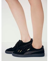 Free People - Black States Trainer - Lyst