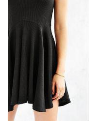 BDG - Black Penelope Fit + Flare Dress - Lyst