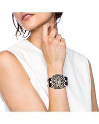Lulu Frost | Larkspur Bracelet Black | Lyst