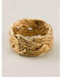 Aurelie Bidermann - Metallic 'Miki' Ring - Lyst