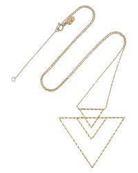 Maria Black - Metallic Alex 18-Karat Gold Necklace - Lyst