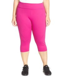 Zella | Pink Live In 2 Slim-Fit Capris | Lyst