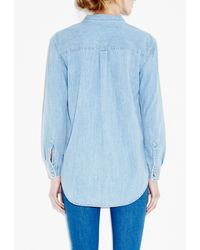 M.i.h Jeans - Blue Loose Shirt - Lyst
