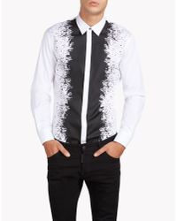 DSquared² - Black Long Sleeve Shirt for Men - Lyst