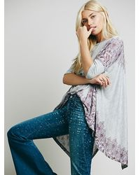 Free People | Multicolor Womens Pick Me Up Tee | Lyst