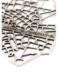 Societe Anonyme - Metallic Florence City Map Pendant Necklace - Lyst