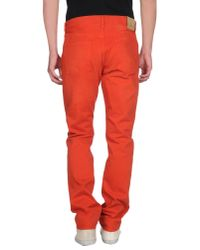 J Brand - Brown Denim Trousers for Men - Lyst