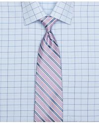 Brooks Brothers | Purple Oxford Stripe Tie for Men | Lyst