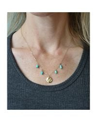 Spectrum | Blue Turquoise Pendant Necklace | Lyst